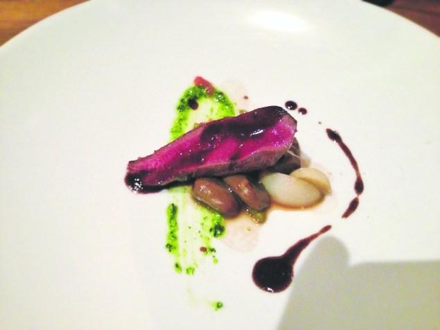 Squab, beans, and radishes PHOTO: T.Tseng