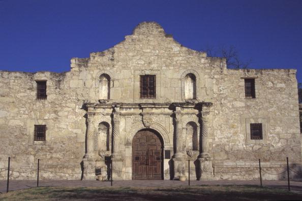 Texas, San Antonio, Exterior Of The Alamo. (Photo: Education Images/UIG via Getty Images)