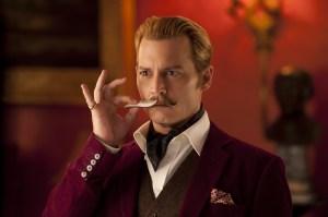 Johnny Depp's recent turn  as the unscrupulous art dealer Charlie Mortdecai.