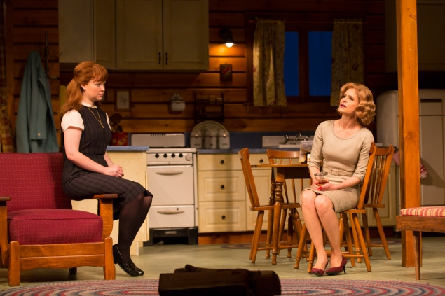 Mary Wiseman, left, and Kyra Sedgwick. (Photo: T. Charles Erickson)