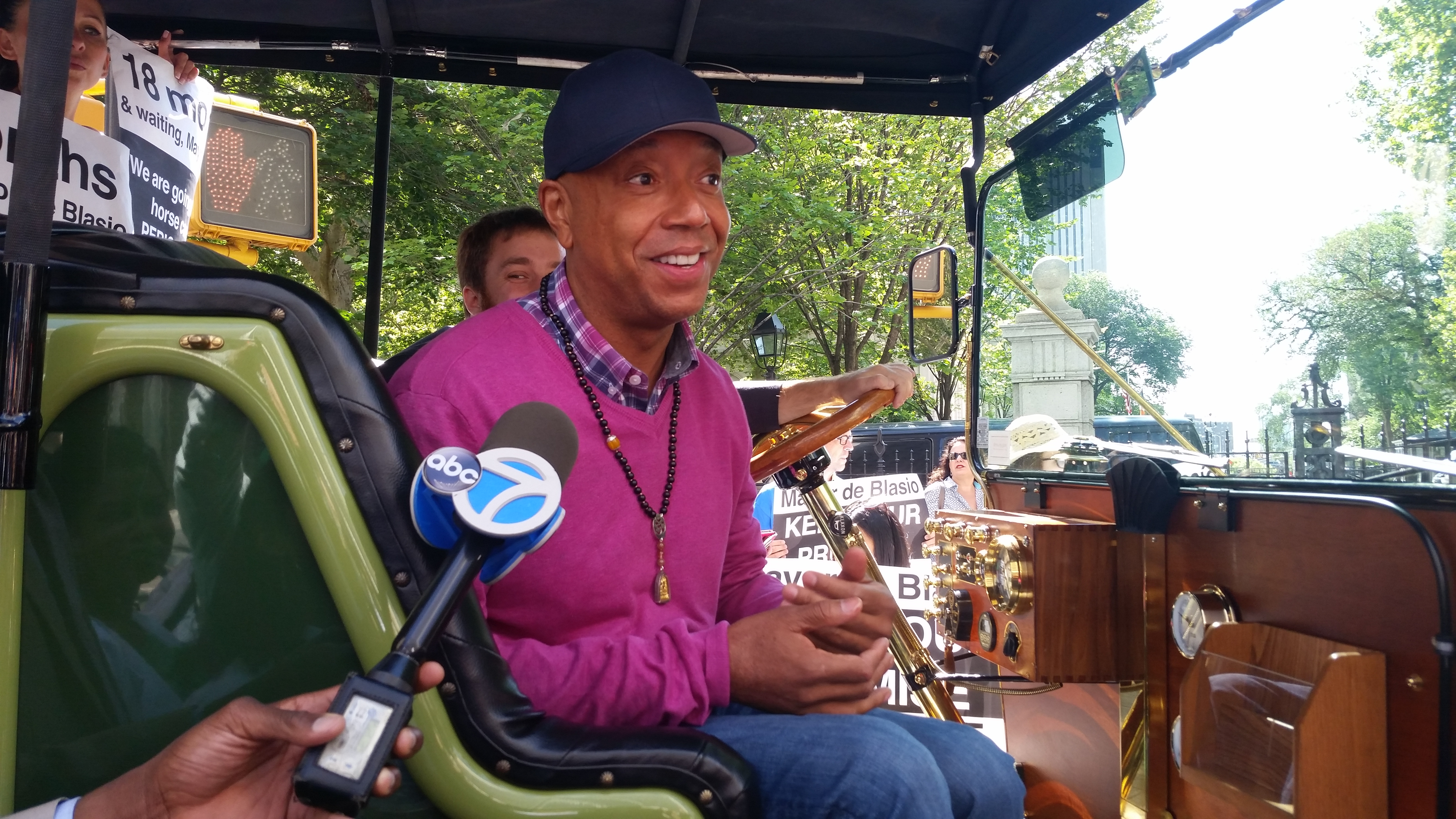 Russell Simmons today. (Photo: Ross Barkan/New York Observer)