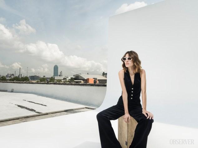 Alexa and the city. (Photo: Sasha Maslov for Observer)
