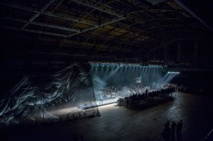 Snarkitecture designed the 2014 runway show, at the Park Avenue Armory, for El Noir.