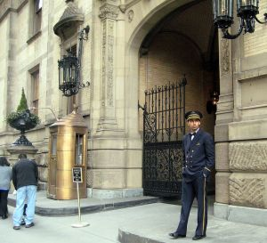 Perhaps a doorman building is the best route instead of a townhouse for a certain kind of buyer.