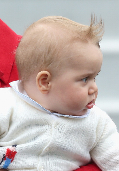 Prince George in New Zealand in April, 2014.  (Photo by Chris Jackson/Getty Images)