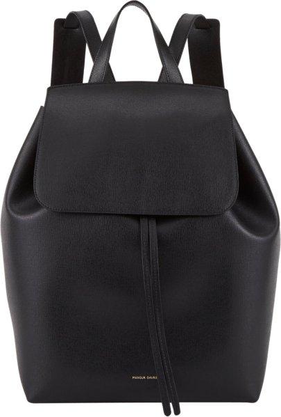 Mansur Gavriel Large Backpack, $845, Barneys.com