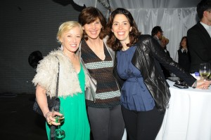 Joanne Rosen and Amy Cappellazzo, with Cindy Sherman, left. (Patrick McMullan)