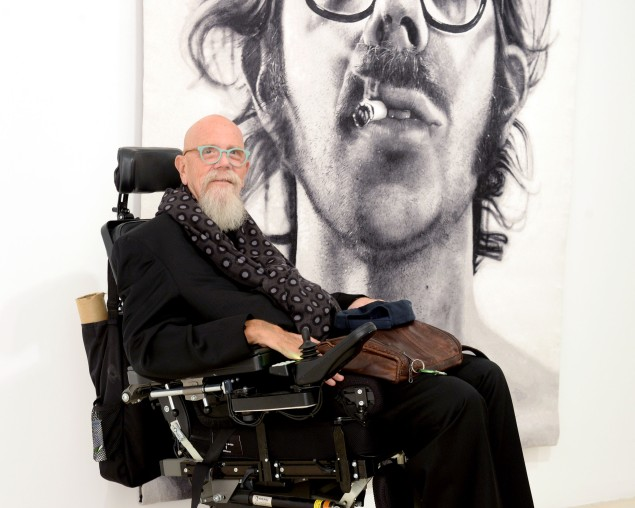Chuck Close. (Photo: Clint Spaulding for Patrick McMullan)