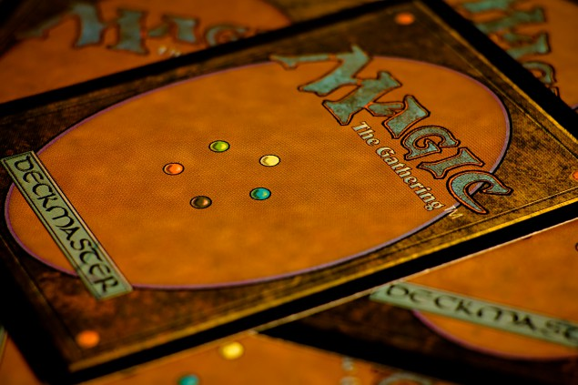Magic: The Gathering cards. (Photo: Bernard Walker)