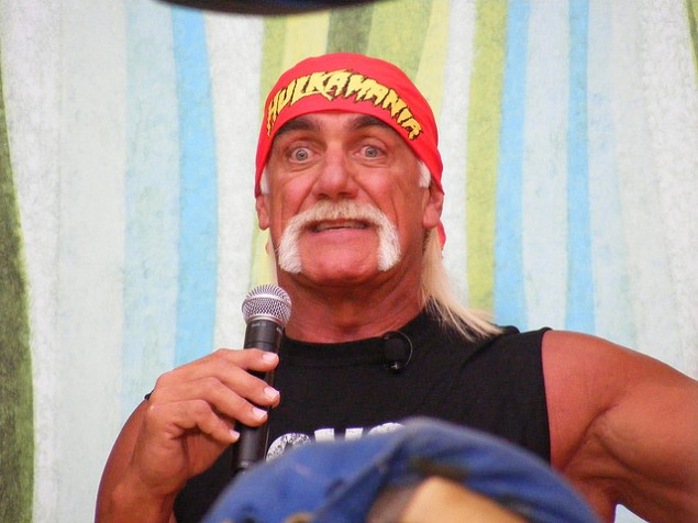 Hulk Hogan isn't smiling now— another sex tape has surfaced, and in this one he's racist. (Photo: Flickr Creative Commons)