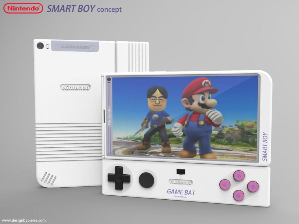 Nintendo concept mobile device by Pierre Cerveau