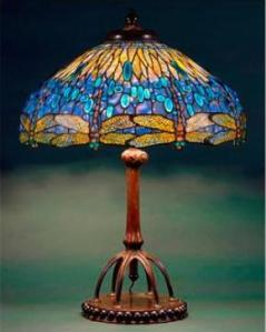 A Dragonfly Table lamp that was part of the New-York Historical Society's exhibition on female designers in 2007, curated by the museum's new director Margaret Hofer (courtesy of the society's website).