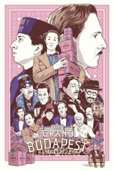 The Grand Budapest Hotel by Joshua Budich