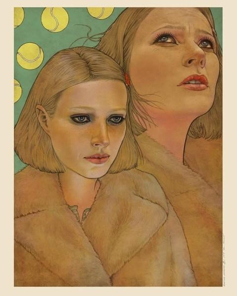 Margot Tenenbaum by Martine Johanna