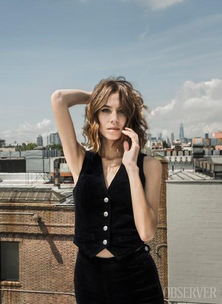Alexa Chung. (Photo: Sasha Maslov for Observer)