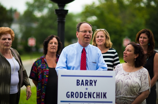 Barry Grodencik. (Photo: Grodenchik campaign)