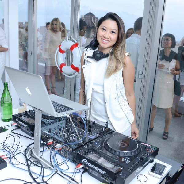DJ Lily Vanilli (Lily Hoang). (Photo: courtesy New Museum and Madison McGaw/BFANYC.com)
