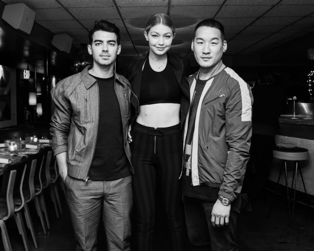 Joe Jonas, Gigi Hadid, Richard Chai (Photo: Courtesy)