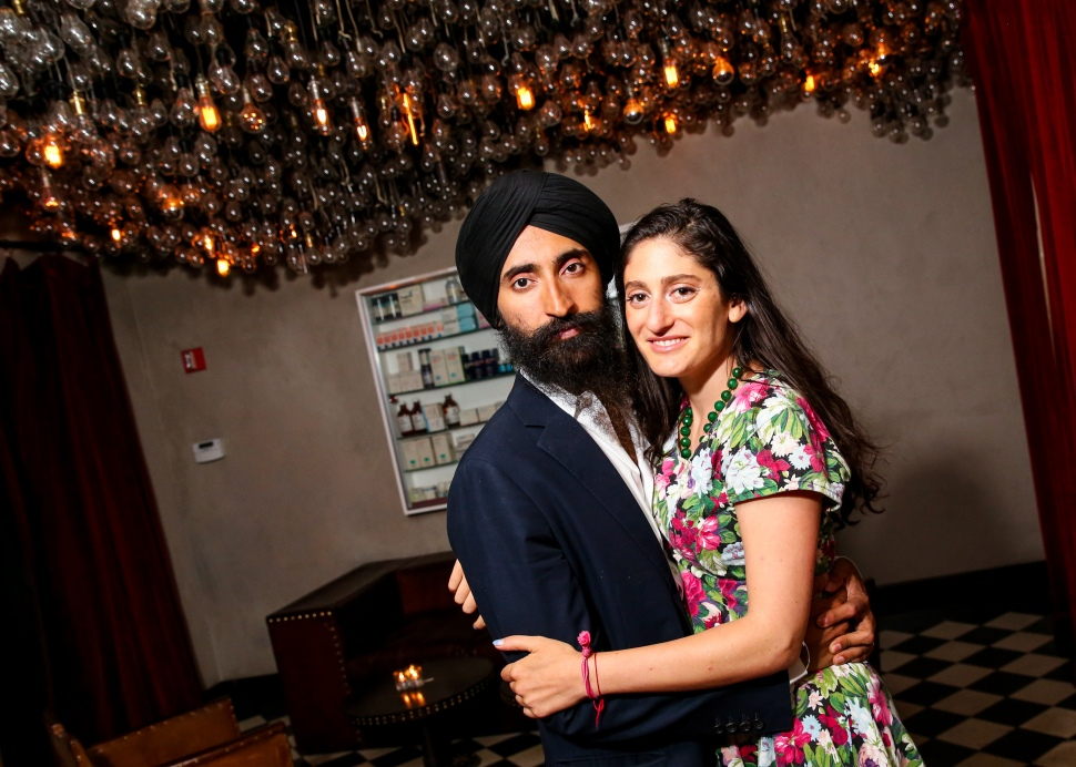 Waris Ahluwalia, Arden Wohl (Photo: Ben Lozovsky for BFA).