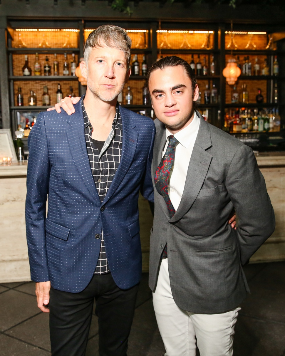 Jefferson Hack, Michael Avedon (Photo: Ben Lozovsky for BFA).