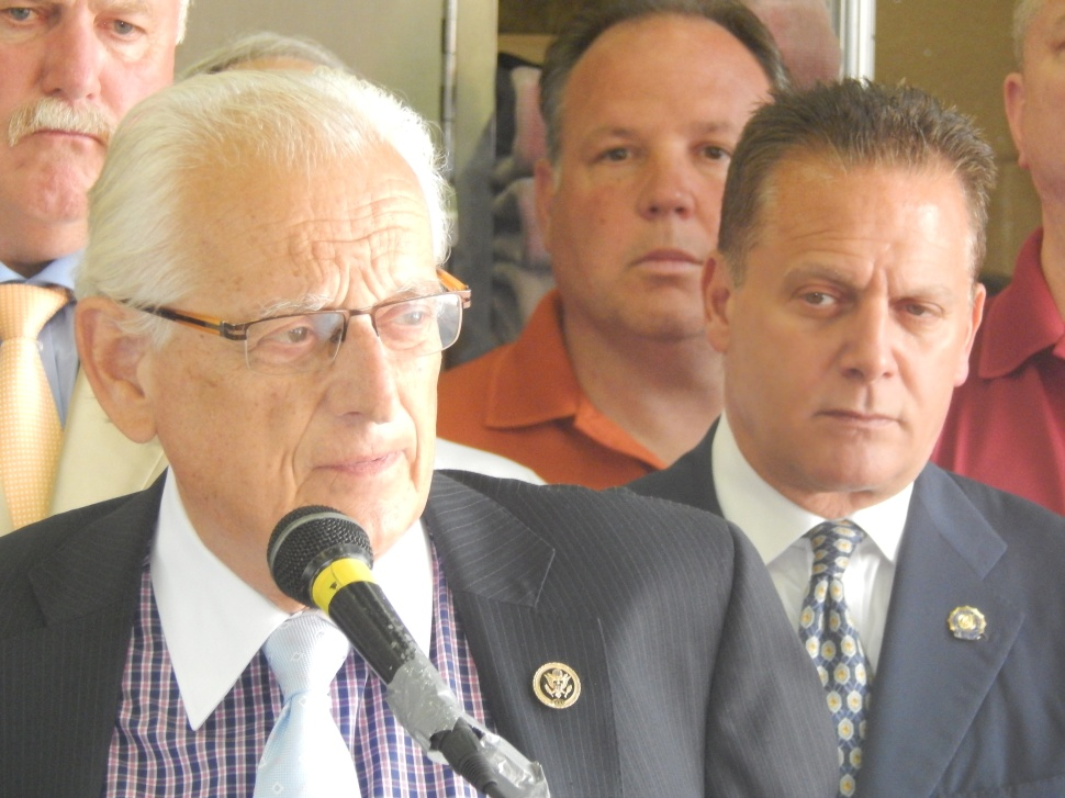 When Speziale, right, left the Democratic Party ticket in 2010, that put Pascrell, left, in the position of shouldering the party and building for possible future complications related to redistricting, which, in fact, arose...