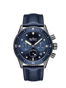 Blancpain Bathyscaphe Chronographe Flyback Ocean Commitment $20,200.