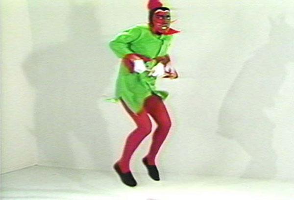 Bruce Nauman No, No, New Museum (Clown torture series) 1987 video still Courtesy Zwirner & Wirth