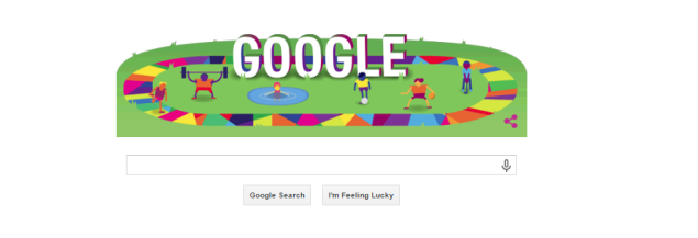 Google's front page on July 24, 2015. (Photo: Screenshot)