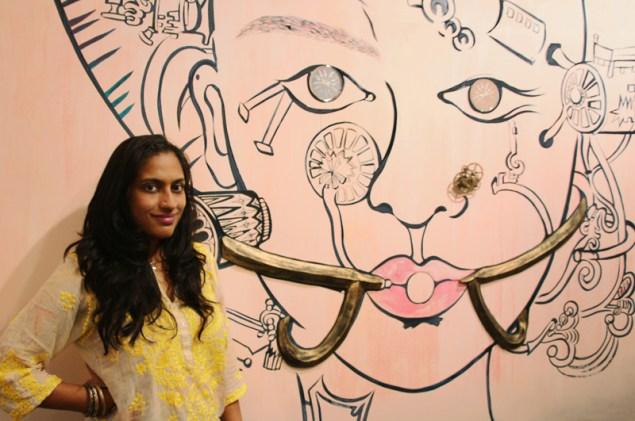 Chitra Ganesh. (Photo: Courtesy Lakereen Gallery, Mumbai)