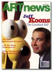 A 1998 cover of Artnews magazine.