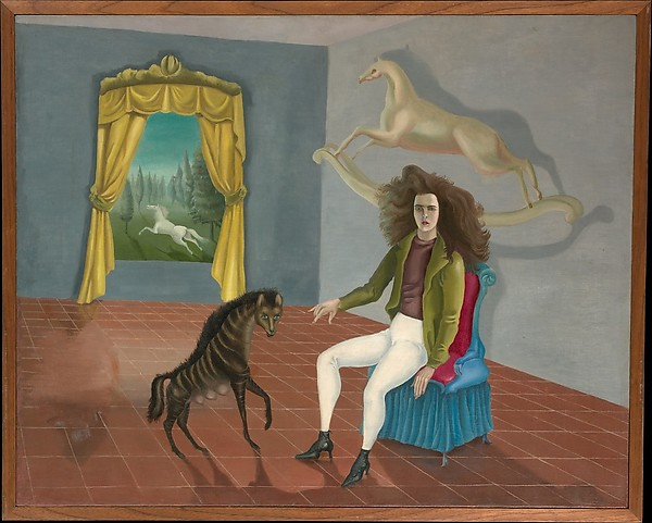 Leonora Carrington, Self-Portrait, (1937–38). (Photo: The Metropolitan Museum of Art Collection Online, © 2015 Artists Rights Society (ARS), New York)
