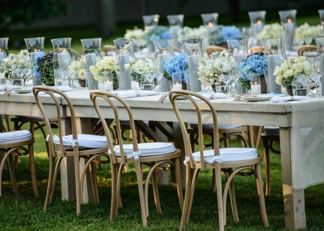 The table settings. (Photo: Hannah Thomson)