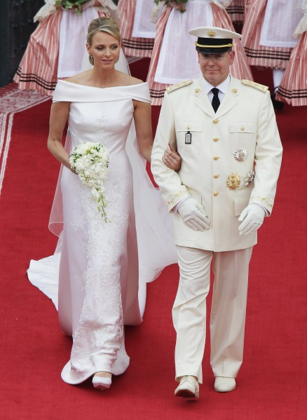 The couple's religious ceremony.  (Photo: Andreas Rentz/Getty Images)