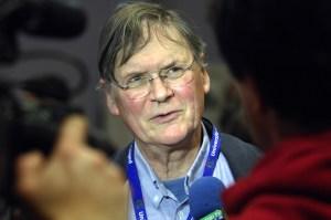 English biochemist Sir Richard Timothy 'Tim' Hunt  (Photo: CSABA SEGESVARI/AFP/Getty Images)