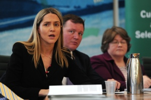 British Conservative MP Louise Mensch (left) has been a vocal supporter of Tim Hunt (Photo: CARL COURT/AFP/GettyImages)