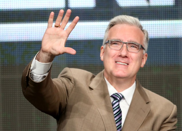 Keith Olbermann speaks onstage during the 2013 Summer Television Critics Association tour at the Beverly Hilton Hotel on July 24, 2013 in Beverly Hills, California. (Getty Images)