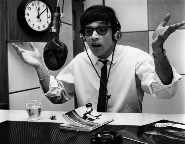 Will radio ever die? Disc jockey Pete Myers in action in 1967 (Photo: Evening Standard/Getty Images).