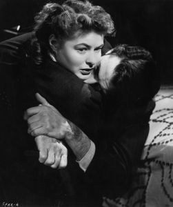 Ingrid Bergman (1915-1982) and Gregory Peck (1916 - 2003) star in Alfred Hitchcock's psychological thriller 'Spellbound'.  (Photo by Hulton Archive/Getty Images)
