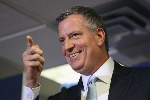Mayor Bill de Blasio (Photo: John Moore for Getty Images)