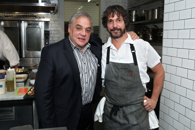 Ken Oringer, at right. (Photo: Astrid Stawiarz/Getty Images for NYCWFF)