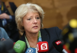 Culture Minister of Germany Monika Grütters