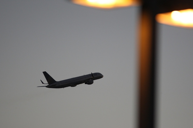 A United Airlines jet. (Photo: Getty)