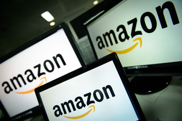 Amazon: the king of Cyber Monday. (Photo: LEON NEAL/AFP/Getty Images)