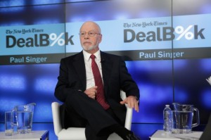 Elliott Management CEO Paul Singer attends the New York Times DealBook Conference at One World Trade Center on December 11, 2014 in New York City. (Getty Images)