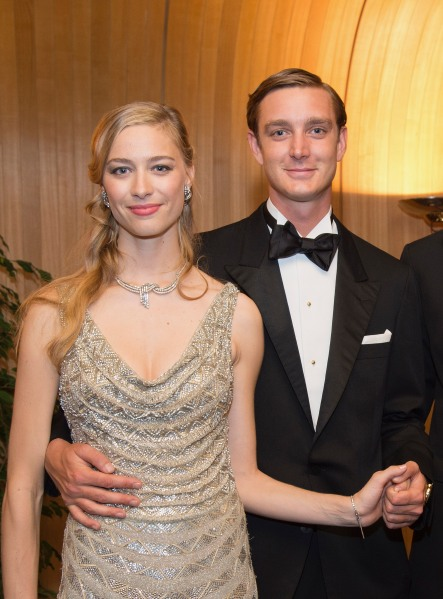 Pierre Casiraghi and Beatrice Borromeo (Photo: Gaetan Luci/Le Palais Princier via Getty Images)