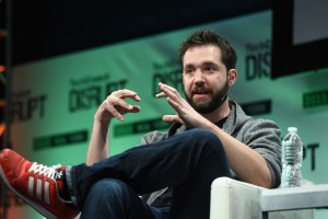 NEW YORK, NY - 06: Co-Founder and Executive Chair of Reddit, and Partner at Y Combinator, Alexis Ohanian speaks onstage during TechCrunch Disrupt NY 2015 - Day 3 at The Manhattan Center on May 6, 2015 in New York City. (Photo by Noam Galai/Getty Images for TechCrunch)