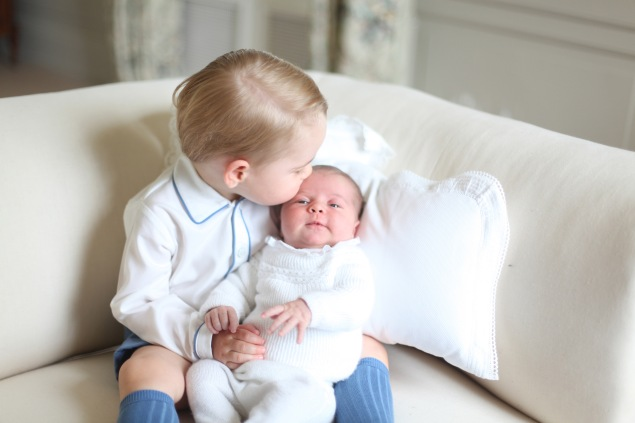 Precious. (Photo: HRH The Duchess of Cambridge via Getty Images)