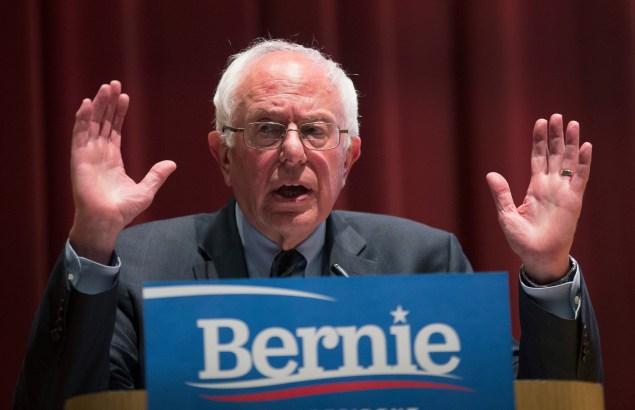 Vermont Sen. Bernie Sanders. (Photo: Scott Olson/Getty Images)