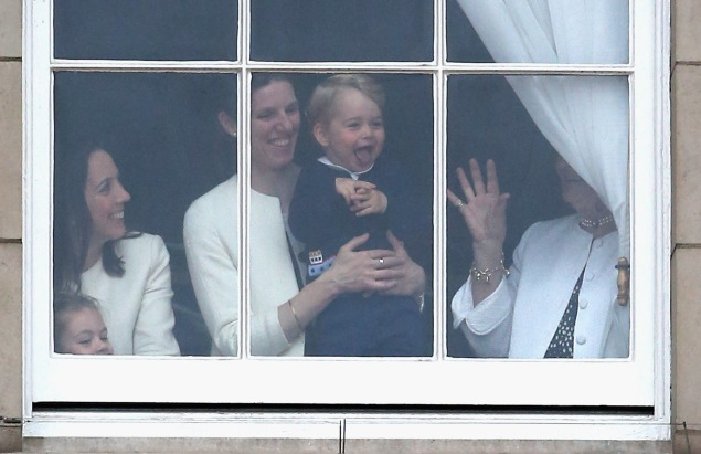 The kid loves windows. What more can we say? (Photo: Getty Images)