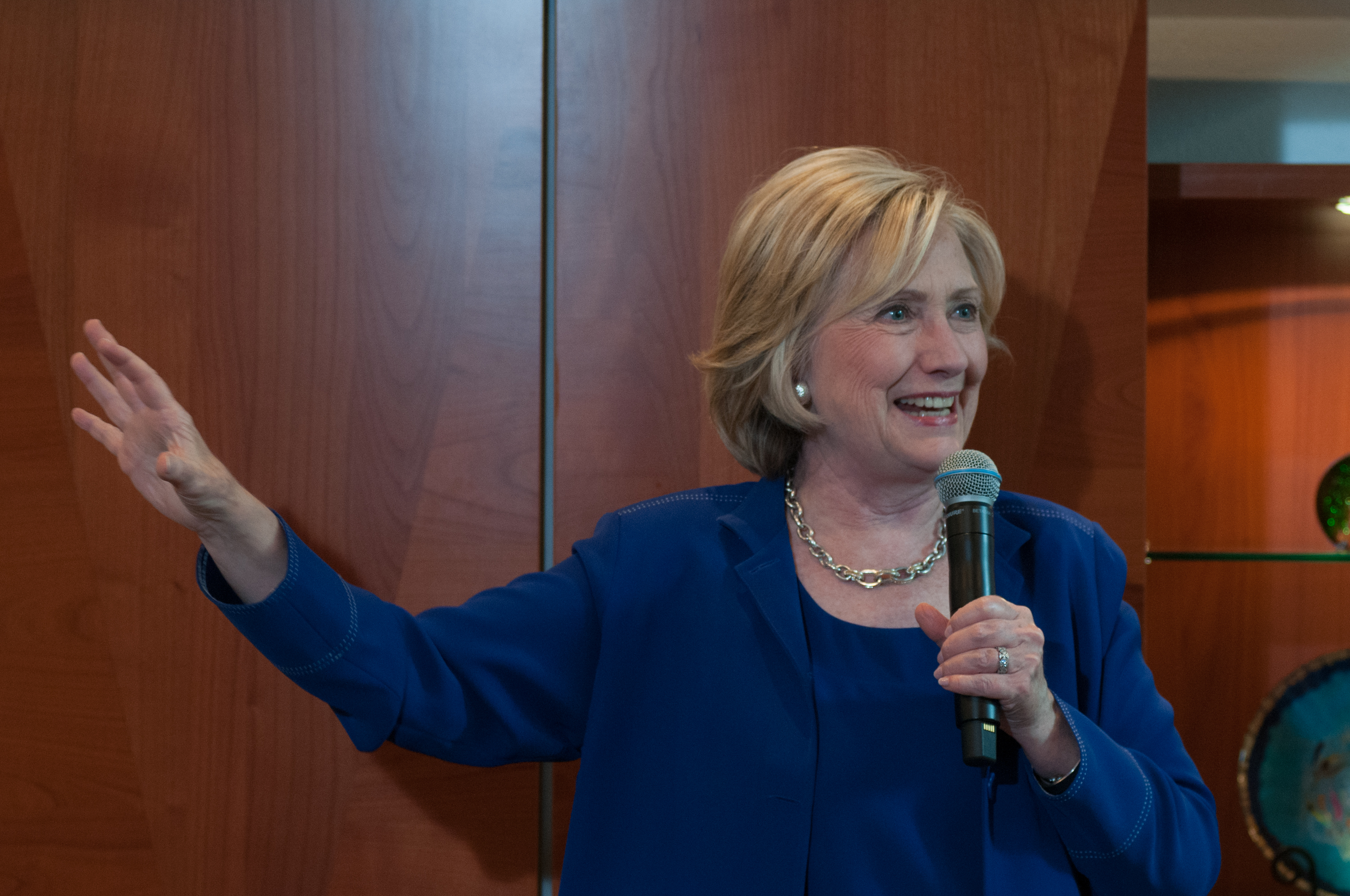 Hillary Clinton. (Photo: Getty Images)